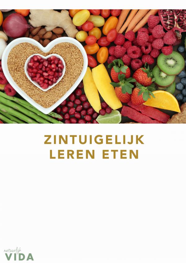 E-book zintuigelijk leren eten